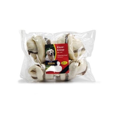 Delisnacks kost z vozli in lososom, 19 cm - 140-150 g