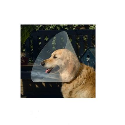 Beeztees veterinarski zaščitni ovratnik - 22-25 cm (širina 7,5 cm)