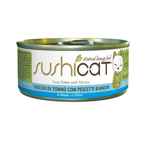 Sushi Cat – tuna in bela riba v juhi – 70 g