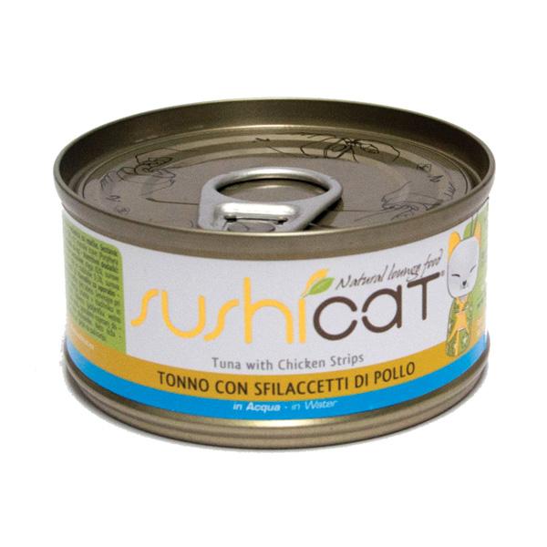 Sushi Cat – tuna in piščanec v juhi – 70 g