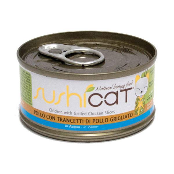 Sushi Cat – piščanec na žaru in juha – 70 g