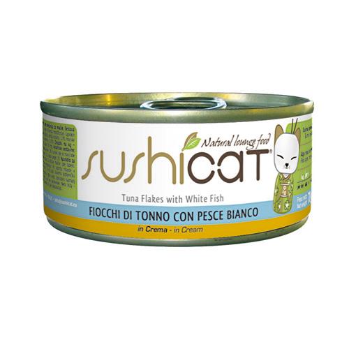 Sushi Cat – tuna in bela riba v smetanovi omaki – 70 g