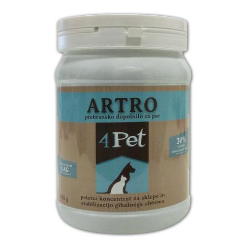 4Pet Artro, prehransko dopolnilo za sklepe - 900 g