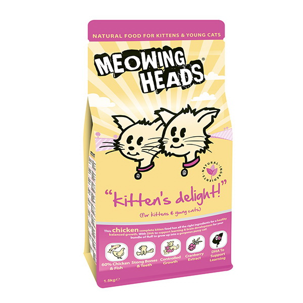 Meowing Heads Kitten's Delight - piščanec - 250 g