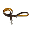 Beeztees povodec Macleather - rjav - 120 cm 15 mm
