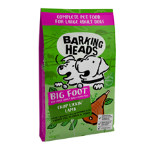 Barking Heads Large Breed Chop Lickin' Lamb - jagnjetina - 12 kg