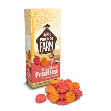 Tiny Friends Farm kunec Russel Fruitees češnja in marelica