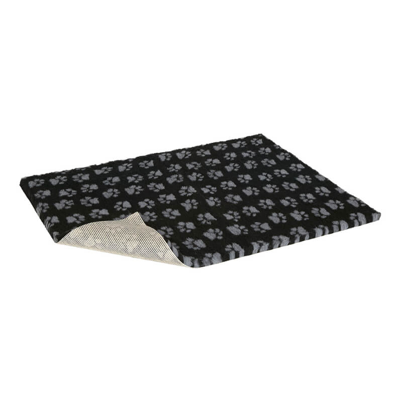 Vetbed nedrseča podloga - črna, tačke - širina 75 cm (cena za m)
