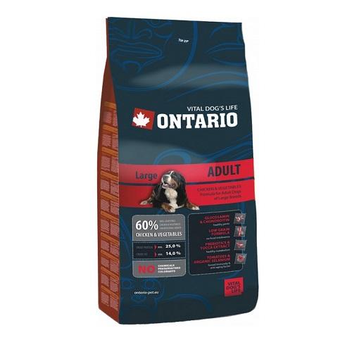 Ontario Adult Large Breed 2,5 kg