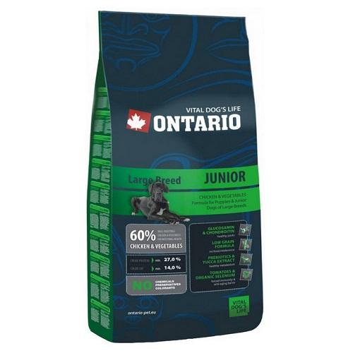 Ontario Junior Large Breed 2,5 kg