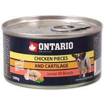 Ontario Junior - piščanec s hrustanci - 200 g