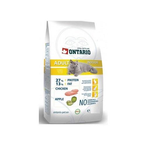 Ontario Cat Adult Indoor - piščanec - 400 g