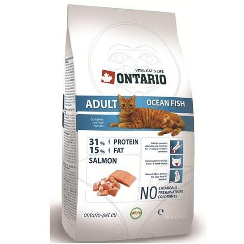 Ontario Cat Adult - morske ribe - 2 kg