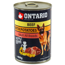 Ontario Adult - govedina, krompir in sočnično olje - 400 g