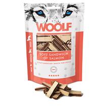 Woolf priboljški - mehki sendvič z lososm - 100 g