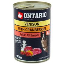 Ontario Adult -divjačina, brusnice in žafranikino olje - 400 g