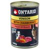 Ontario Adult - divjačina, brusnice in žafranikino olje 400 g