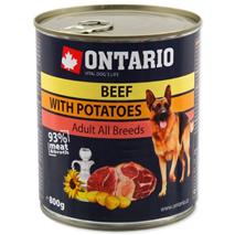 Ontario Adult - govedina, krompir in sončnično olje - 800 g