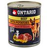 Ontario Adult - govedina, krompir in sočnično olje 800g