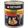 Ontario Adult - piščanec, korenje in lososovo olje 800g