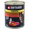 Ontario Adult - divjačina, brusnice in žafranikino olje 800g