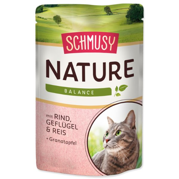 Schmusy Nature - govedina in perutnina - 100 g