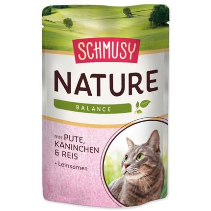 Schmusy Nature - puran in zajec - 100 g