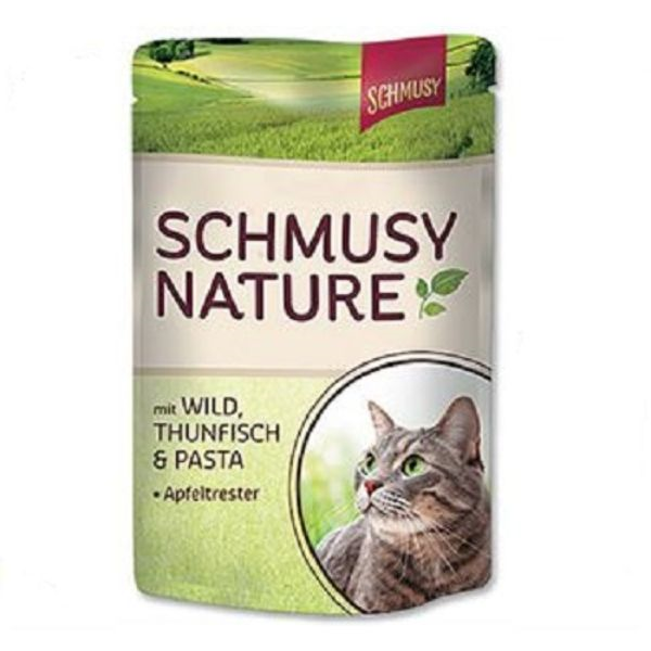 Schmusy Nature - divjačina in tuna - 100 g