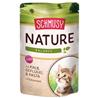 Schmusy Nature Kitten - teletina in perutnina - 100 g 100 g