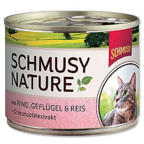 Schmusy Nature - govedina in perutnina - 190 g