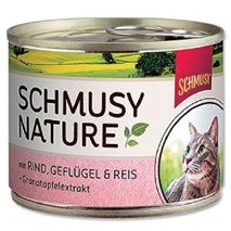 Schmusy Nature - govedina in perutnina - 190 g