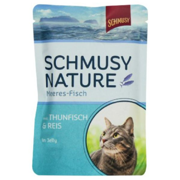 Schmusy Nature - tuna in riž - 100 g