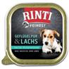 Rinti Feinest alutray - perutnina in losos - 150 g 150 g