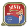 Rinti Gold Mini alutray - piščanec in goska - 100 g 100 g