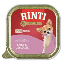 Rinti Gold Mini alutray - raca in perutnina - 100 g