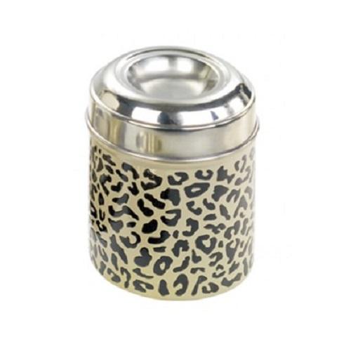 Nobby kovinska posoda za posladke, leopard - 13 cm