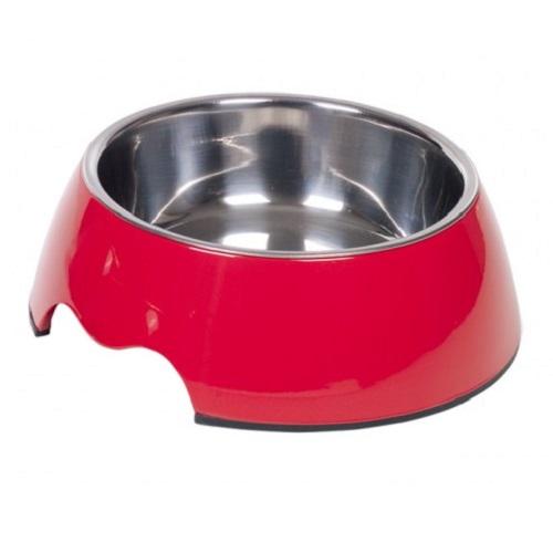 Nobby posoda melamin, rdeča - 17 cm/350 ml