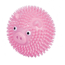 Nobby Puppy plavajoča žoga v obliki ježa, roza- 6,5 cm