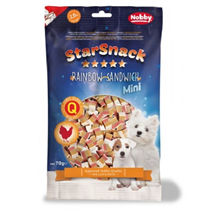 Nobby Starsnack Mini mavrični sendviči – 70 g