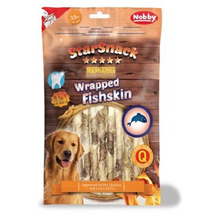 Nobby Starsnack Barbecue ribja koža na palčkah – 70 g
