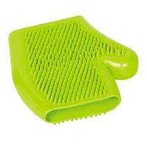 Nobby krtača gumi rokavica, zelena