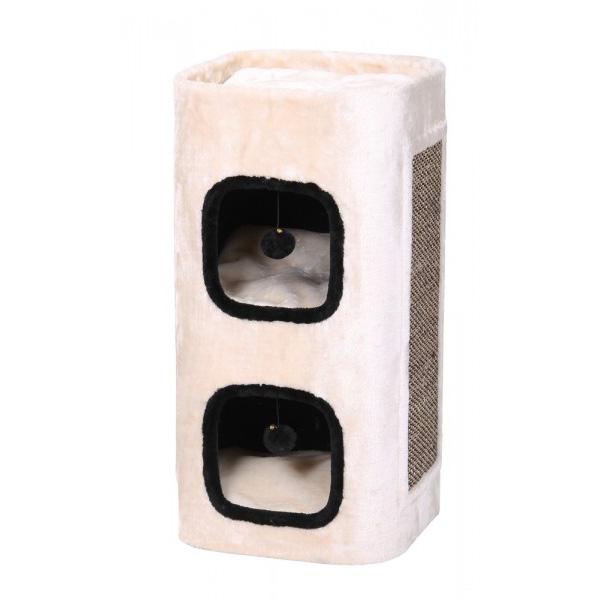 Nobby Palca praskalnik za mačke, bež - 45 x 38 x 76 cm