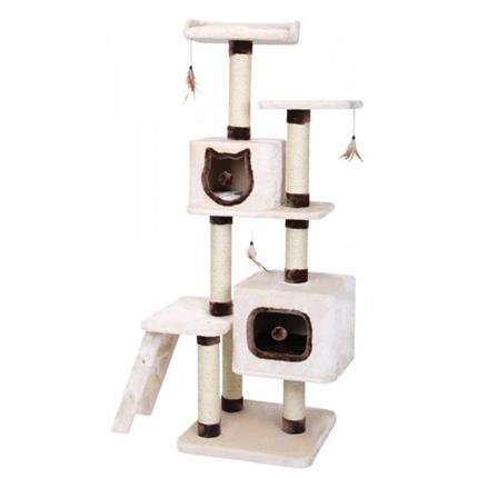 Nobby Tregua praskalnik za mačke, bež - 55 x 55 x 172 cm
