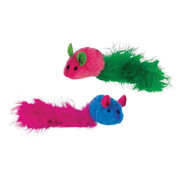 Nobby pliš miš Rainbow, 2 kos