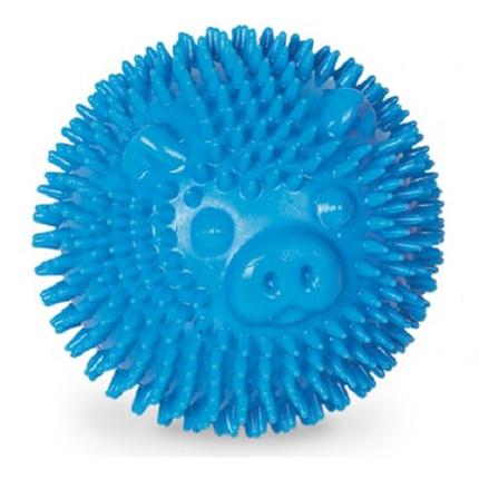 Nobby plavajoča žoga v obliki ježka, modra - 6,5 cm