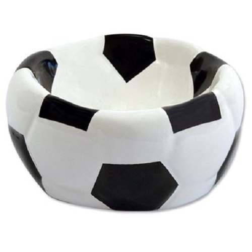 Dog Fantasy posoda keramika, nogometna žoga - 15 cm/270 ml
