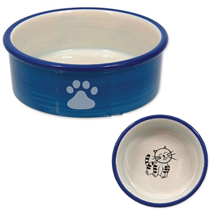 Dog Fantasy posoda keramika, modra - 12 cm/300 ml