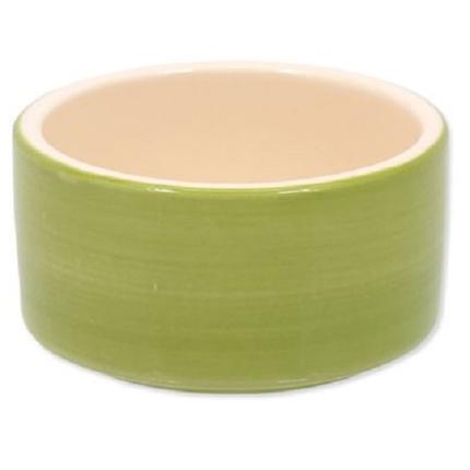 Dog Fantasy posoda keramika, zelena - 10 cm/220 ml