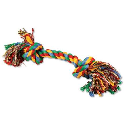 Dog Fantasy igralna vrv, dva vozla - 30 cm