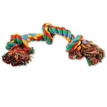 Dog Fantasy igralna vrv s tremi vozli - 40 cm